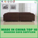 Chinesische Möbel Manufactor GroßhandelsBrown Gewebe-Liebes-Sitzsofa