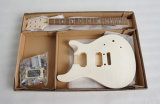 China guitarra eléctrica Factroy Corpo Basswood sólido DIY Kit guitarra