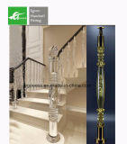 Balaustre cristalino del SUS 201/304/316 del fabricante del surtidor de Chiness para el pasamano del balcón