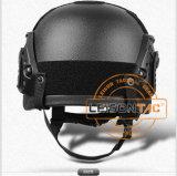 戦術的なヘルメット補強されるプラスチックは遅い反動のメモリ泡とおよび中のヘルメットによってパッドを入れられる
