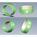 W2 Smartband Armband-Zeit-Bildschirmanzeige mit Schlaf-Monitorwasserdichtem Wristband