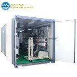 El equipo de tratamiento de agua de 72.000 litros por día