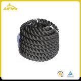 Esercitazione della corda di forma fisica di allenamento della corda di battaglia di lunghezza