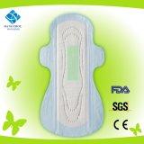 290mm夜使用によってベルトを付けられる超薄く女らしい衛生学のパッド