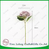 Decoración romántica Artificial Flores Hortensias eterna Flor para floristería