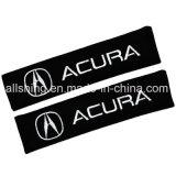 De Veiligheidsgordel van de Auto van Acura Behandelt de Polyester van het Paar van Schouderopvulsels