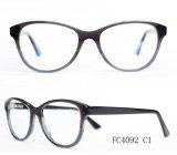 Frame ótico da senhora Eyeglass do acetato de quatro cores