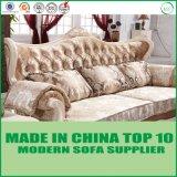 Autique贅沢なファブリックチェスターフィールドの現代的なソファーの一定のフランスのロココ