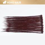 Singolo Crochet sintetico concluso Dreadlocks dei capelli di colore rosso di 20 pollici