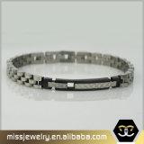 La cadena de acero inoxidable 316L pulsera para hombres Mssb002