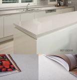 Bancadas estratificadas de quartzo para cozinhas