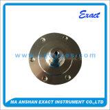 Tutto il manometro dell'acciaio inossidabile con il collegamento del diaframma