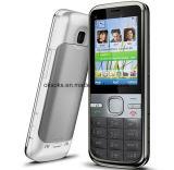 Téléphone mobile déverrouillé initial de marque C5 C5-00 avec FM et GPS