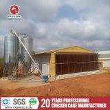 換気のパッドが付いているケージを耕作する家禽装置の層