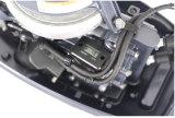 9.8 Barco de motor longo manual cinzento do eixo do motor externo da vela de Yamah da gasolina da eficiência elevada do cavalo-força Calon Gloria 2stroke externo