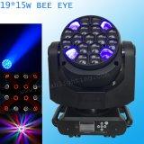 15W 19 RGBW 4 in-1 grosses B Augen-Ereignis-Licht