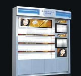 LCD transparente frigorífico para publicidade