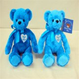 Urso azul popular da peluche do luxuoso da venda 2017 quente