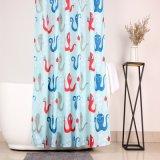 Tenda di acquazzone ecologica del tessuto del poliestere di cura facile per la stanza da bagno