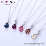 Swarovski 다이아몬드 목걸이 보석에서 44346의 Xuping 형식 물 하락 모양 결정