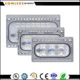 사각과 정원을%s 옥외 100W Silm SMD LED 투광램프