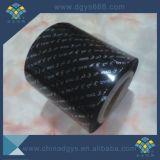 黒いカラーレーザーの効果の熱い押すホイル