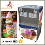 Controle de microcomputador Rainbow Soft servem sorvete máquina