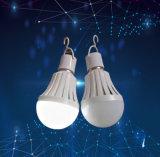 5W 7W 9W 12W 백업 건전지를 가진 재충전용 긴급 LED 전구