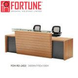 خشبيّة حديثة مكتب استقبال طاولة مع [هيغقوليتي] [فوه-رد-2410] (2)