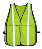 Uve015 poliéster Oxford PVC/PU Non-Breathable/PU respiráveis cubra pano reflexivo Vest Worksuit