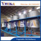 Installatie van de Raffinaderij van de Olie van de Camelia van de Zaden van het Type 10t/D van partij de Plantaardige Ruwe