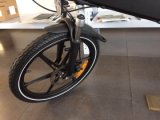 """セリウム20の""""隠されたリチウム電池が付いている都市電気Foldable自転車"""
