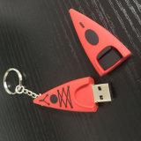 Ключ на каяках цепи подарок USB кольцо небольшой каноэ лопатку системной платы с логотипом, поощрение