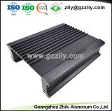 Personnaliser le profil en aluminium/aluminium Extrusion pour dissipateur thermique de l'audio de voiture
