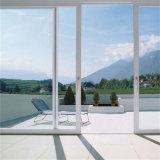 Doble acristalamiento Personalizar puerta corrediza de aluminio