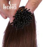 Cabelo brasileiro de qualidade superior 0,5G 18 polegada Brown I Dica Extensões de cabelo