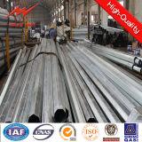 Elektrisches galvanisiertes Stahlrohr runder Pole für Netzverteilung