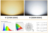 Iluminación Oudoor LED 100W/150W/200W blanco frío impermeable al aire libre del sensor de movimiento proyector LED luces LED