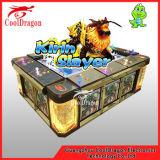 Macchina di gioco poco costosa del gioco della galleria di pesca del casinò di estinzione della moneta di divertimento