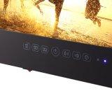 """stanza da bagno Android nera LED impermeabile TV di 19 """" WiFi TV"""