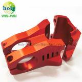 Aluminiummotorrad-Stamm-Ersatzteile für die CNC anodisierte maschinelle Bearbeitung