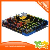 Broad Safety Trampoline Park /Trampoline Bed with Safety Net