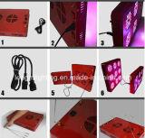 [85-100و] [لد] معمل ضوء مصباح أحمر زرقاء أرجوانيّة تحت أحمر مربّعة