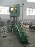 기계 Ye83-500를 재생하는 자동적인 폐기물 알루미늄 철 금속 작은 조각 유압 연탄