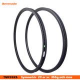 Bike горы MTB волокна углерода 7-Tiger снабжает ободком 29er 25 mm глубины оправа велосипеда углерода ширины 30 mm