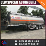 acoplado de acero del tanque del transporte del aceite de mesa de la leche de 35mt-45mt Stainess