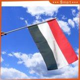 Полиэстер Mini провел Memory Stick World Cup Встряхивание руки цвета флага