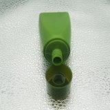 Bouteille faite sur commande de couleur verte pour l'empaquetage cosmétique de soin personnel