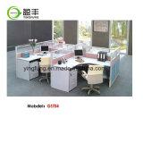 Partition de la station de travail de bureau en bois modulaire Desk YF-G1403