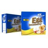 Strumentazione automatica approvata dell'incubatrice dell'uovo di Poultray del Ce per 56 uova